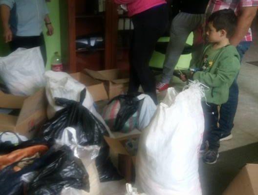 Donación para los Hermanos de la costa por el terremto