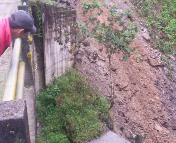 Via principal a Runahurco esta por colapsar